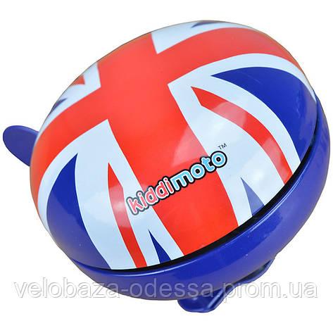 Звонок KiddiMoto британский флаг, большой, фото 2