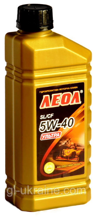 ЛЕОЛ ULTRA 5W-40, Моторное масло 1 л
