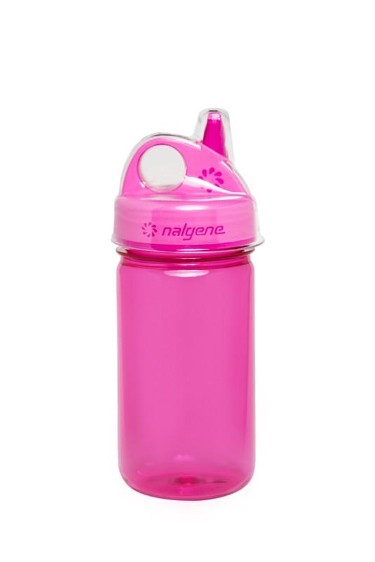 Пляшка для води дитяча Nalgene Grip-n-Gulp Розова 350 мл.