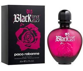 Женская туалетная вода Paco Rabanne Black Xs For Her (Пако Рабан Блэк Икс Эс Фо Хе) реплика