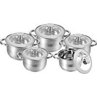 Набор посуды (кастрюль) Krauff 26-242-006 10 предметов