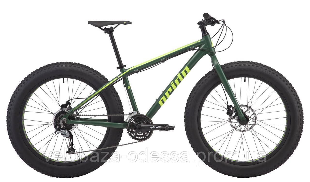 """Велосипед 26"""" Pride DONUT 6.2 рама - XL хакки/желтый 2018"""