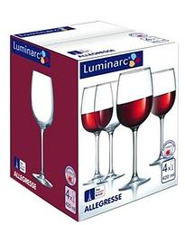 Набор бокалов для вина Luminarc Allegresse 420 мл 4 шт J8166