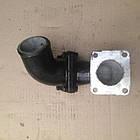 Патрубок нижнего бачка водяного радиатора Т-150 СМД-60, фото 3