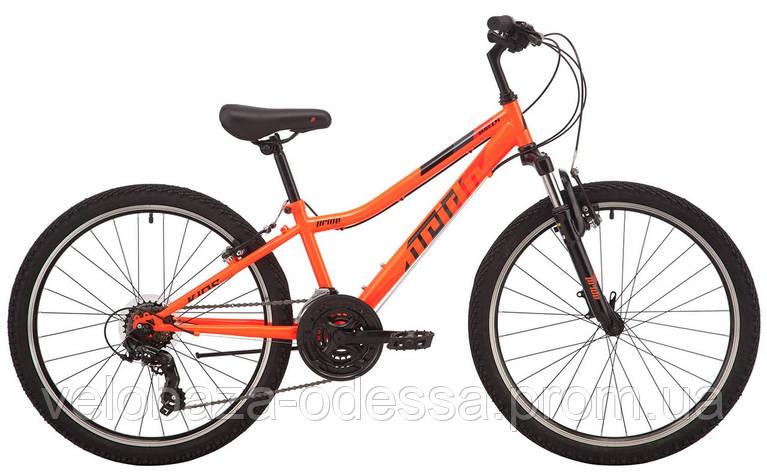 "Велосипед 24"" Pride BRAVE 4.2 оранжевый 2019, фото 2"