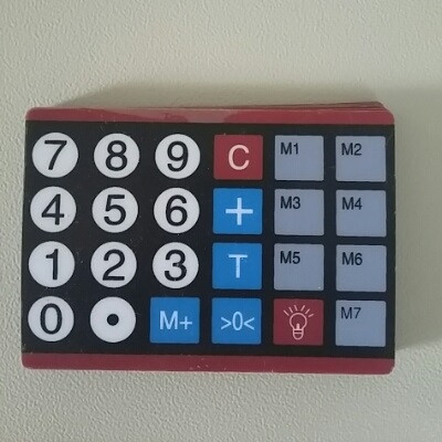 Плівка клавіатури ваг Олімп ACS-769