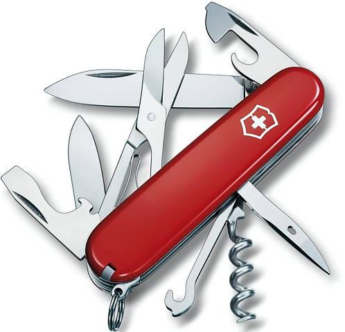 Складной швейцарский нож Victorinox Climber 13703 красный