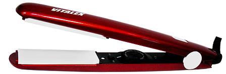 Керамический утюжок  щипцы для укладки волос   Выпрямитель   Плойка Vitalex VT - 4013 CG24 PR5, фото 2