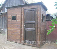 [dush-tualet-dacha] Душ туалет из дерева для дачи | Деревянный душ туалет