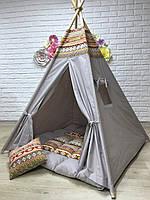 Вигвам «Гора Ай-Петри» с ковриком и подушечкой