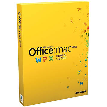 Microsoft Office Mac Home Student FamilyPK 2011 Russian DVD BOX (W7F-00022)