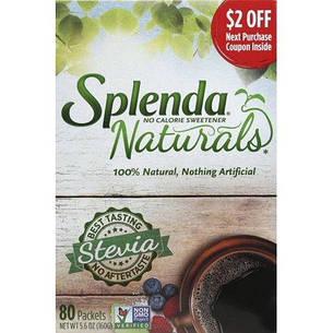 Натуральний цукрозамінник стевія без гіркого присмаку Splenda США 160 г, фото 2