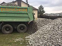 Щебень всех фракций точный вес, доставка в посёлки Святошинского Макаровского района.