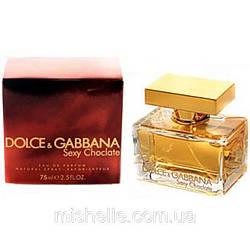 Женская туалетная вода Dolce & Gabbana The One Sexy Chocolate (Дольче Габбана Зе Ван Секси Шоколад) копия
