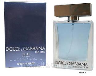 Мужская туалетная вода Dolce&Gabbana The One blue (Дольче Габбана Зе Ван Блю) реплика