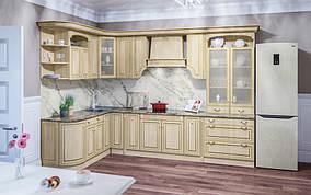 Кухня Валенсия 5,0 м Клен/Патина (Світ Меблів ТМ)