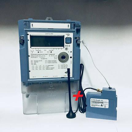 Электросчетчик Landis + Gyr ZMG 310 + модем ETM - Purple 3G для ЗЕЛЕНОГО ТАРИФА, фото 2