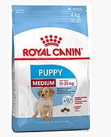 Сухой корм Роял Канин Royal Canin Medium Puppy для щенков средних пород 15 кг