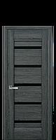 Двери Новый Стиль Лира ПО дуб графит, коллекция Либерти