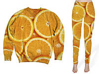 """Костюм женский 3D """"Апельсины"""""""