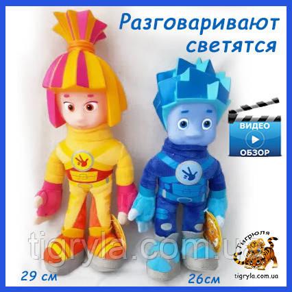 Мягкие озвученные игрушки Симка и Нолик