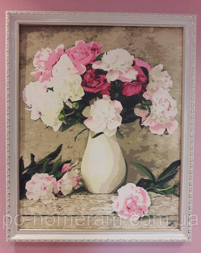 Фото и отзыв о картинах-раскрасках в багетной раме