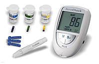 Устройство 3 в 1 BeneCheck Plus для измерения уровня глюкозы, холестерина, мочевой кислоты в крови, Польша, фото 1