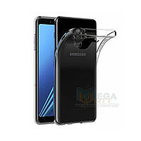 Прозрачный силиконовый чехол для Samsung Galaxy A8 Plus 2018 (A730)