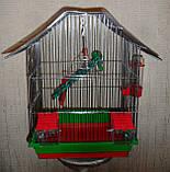 Клітка для птахів ШАНХАЙ (330х230х400), фото 2
