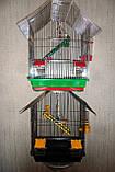 Клітка для птахів ШАНХАЙ (330х230х400), фото 4