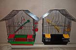 Клітка для птахів ШАНХАЙ (330х230х400), фото 6