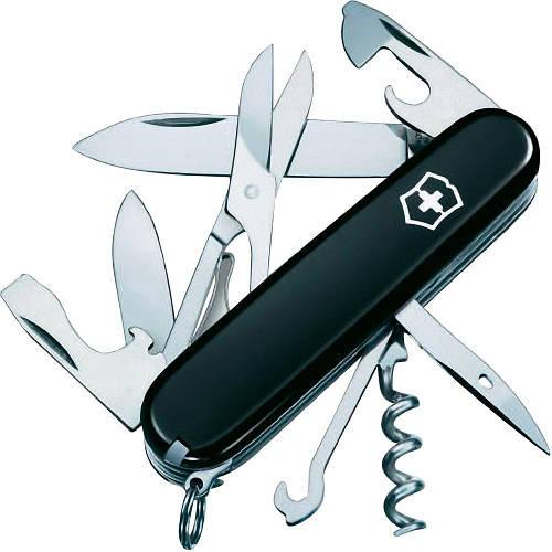 Складной укомплектованный нож Victorinox Climber 13703.3 черный