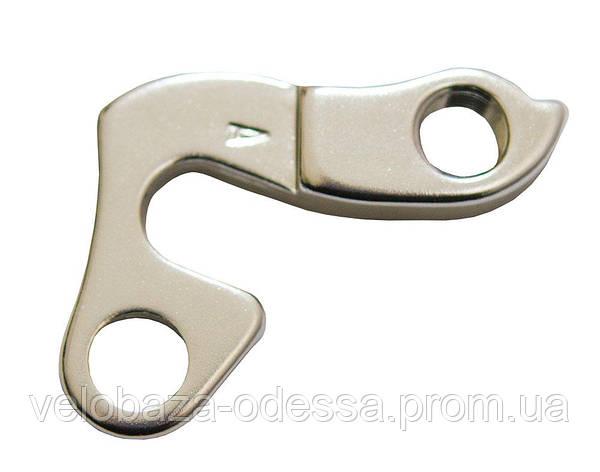 Серьга на раму a-hg- 013-4 silver, фото 2