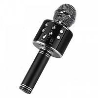 Караоке мікрофон Wster WS858 Чорний