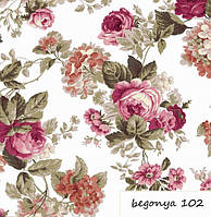 Ткань цветок обивка