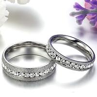 """Кольца для пары """"Обручальные"""", цвет серебристый, фото 1"""