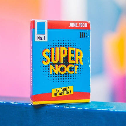 Карты игральные | Super NOC Playing Cards (1st Edition), фото 2