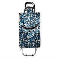 Хозяйственная сумка на колесах серпантин