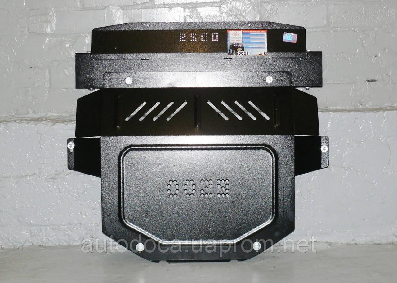 Защита картера двигателя и кпп Peugeot 307  2001-