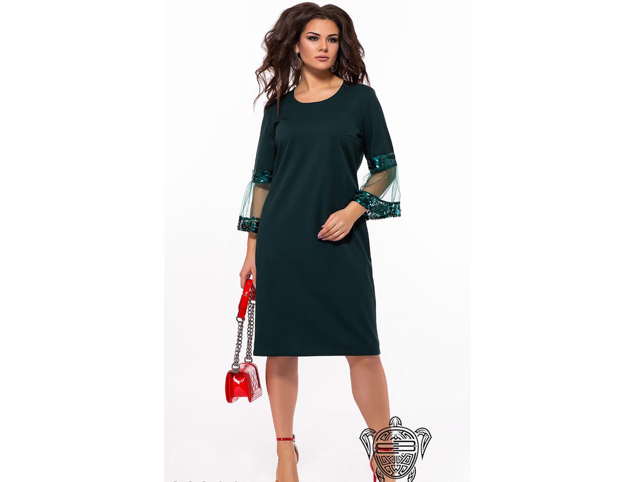19abaf37e9a0dc9 Я-Модна - купить Женское вечернее платье с пайетками 26313 / размер ...