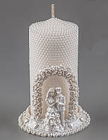 Свадебная свеча Пара 13 см (004Q)