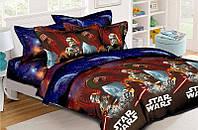 Двуспальное постельное Звездные войны Юка ранфорс 100% хлопок