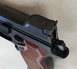 Пневматический пистолет SAS P210 Legend Blowback Black, фото 3