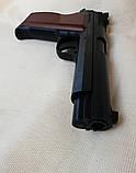 Пневматический пистолет SAS P210 Legend Blowback Black, фото 5