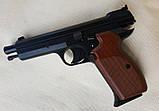 Пневматический пистолет SAS P210 Legend Blowback Black, фото 7
