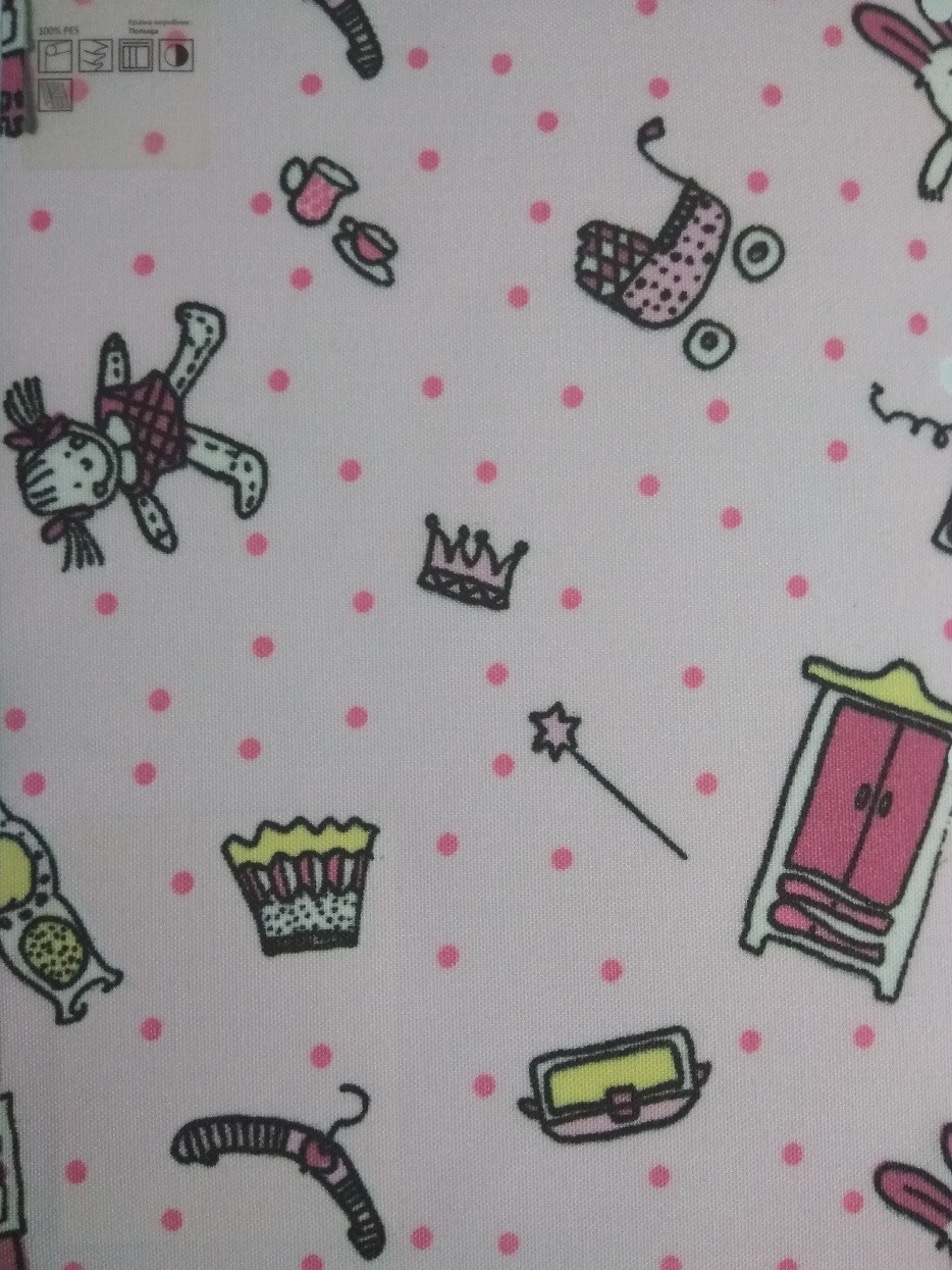 Рулонні штори Дитячі Феї B-352 рожевий