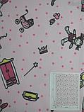 Рулонні штори Дитячі Феї B-352 рожевий, фото 2