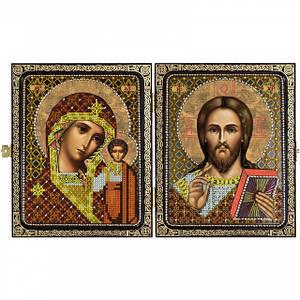 Православні складні - набори для вишивання ікон бісером ювелірним