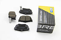 Колодки тормозные задние на Акцент (Accent ), BREMSI BP2967
