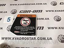 Наклейка для квадроцыкла Brp Can Am №20
